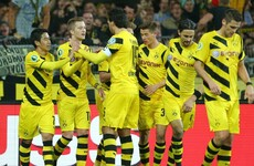 Borussia wearing the Tuesday face
